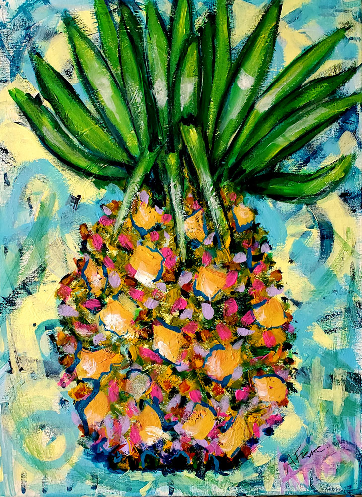 Pineapple of Hope by Adriana Franc