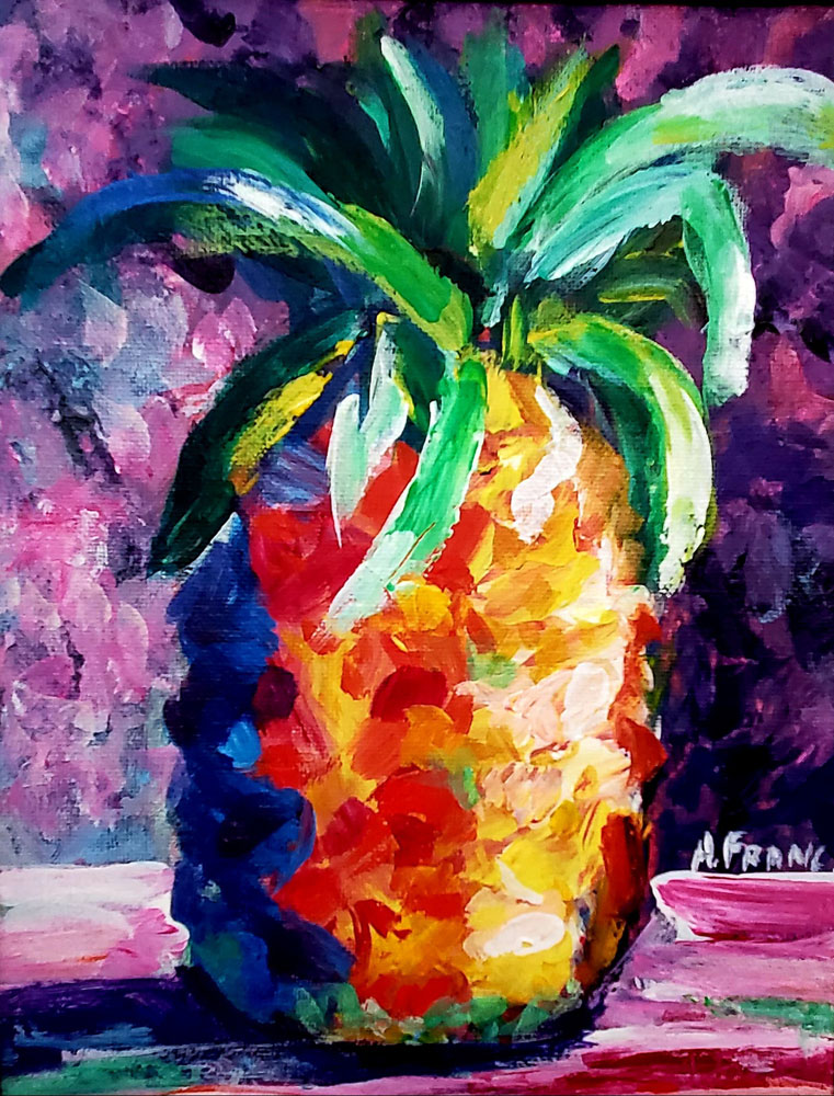 Delicious Pineapple by Adriana Franc
