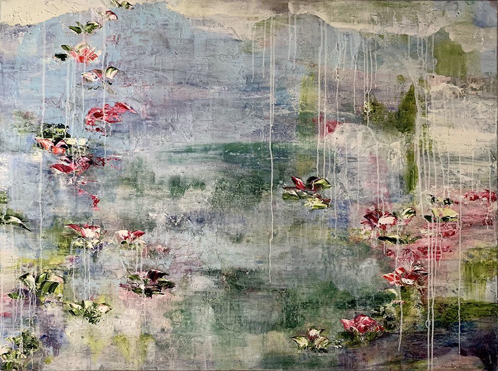 Ponds No 13 by Azadeh R Nikou