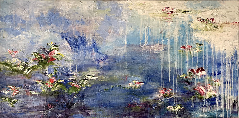 Ponds No 15 by Azadeh R Nikou