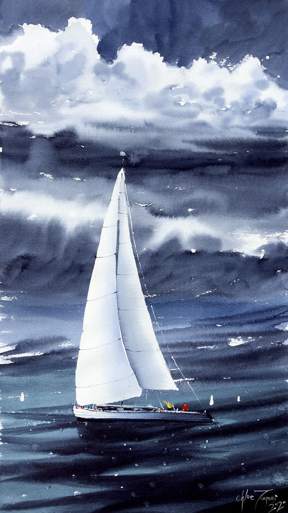 Dancing in the Storm by Chloe Tomomi