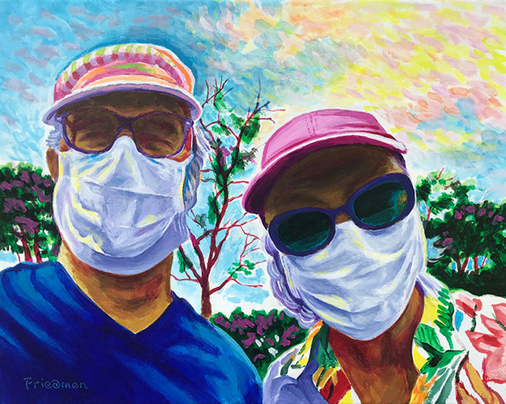 Selfie in Quarantine by David Friedman