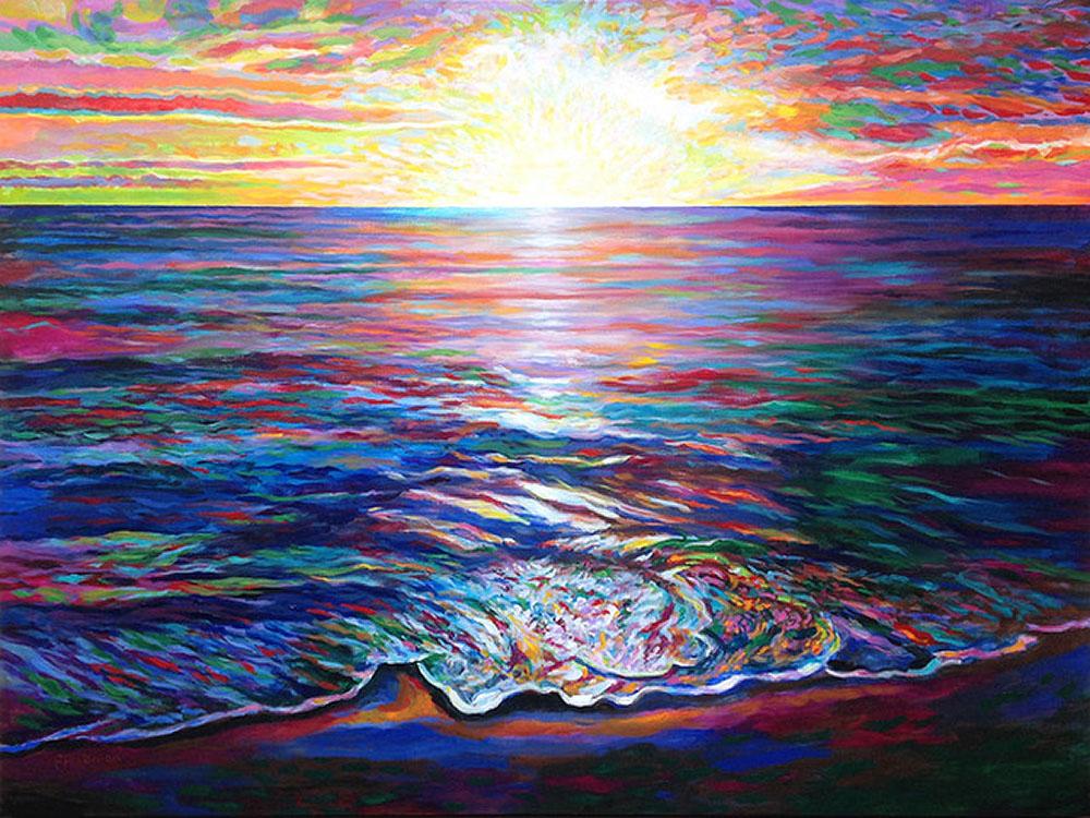 Waikiki Sunset by David Friedman
