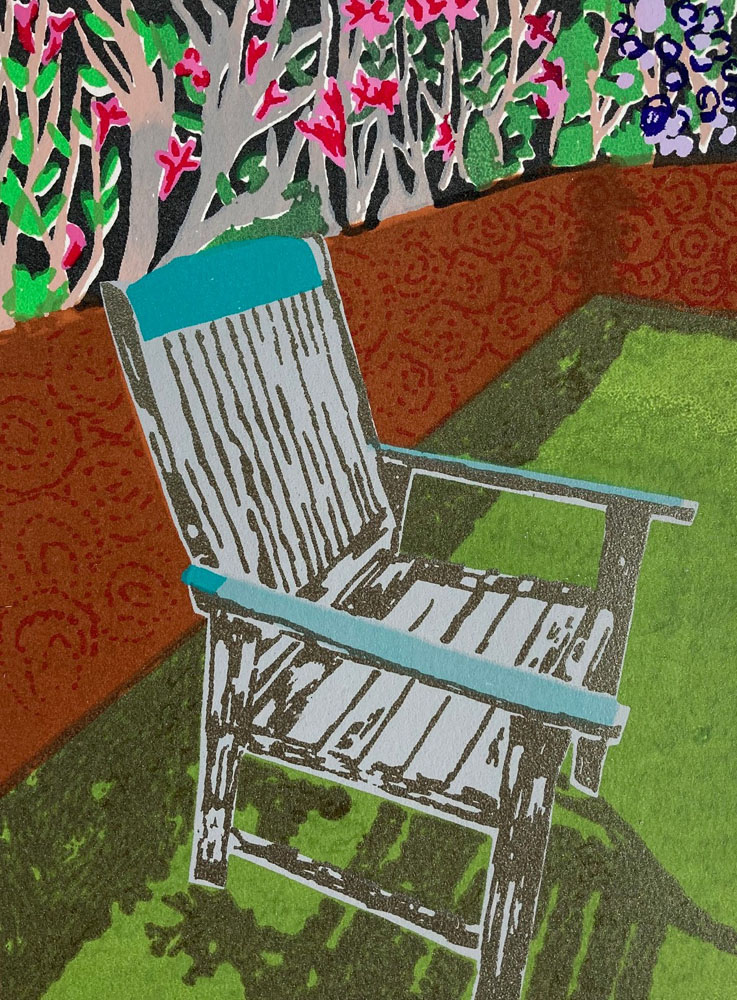 A Seat in the Sun by Eileen Towata