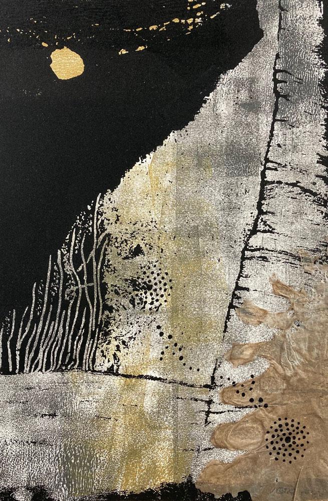 Turmoil at Bitter Creek by Eileen Towata