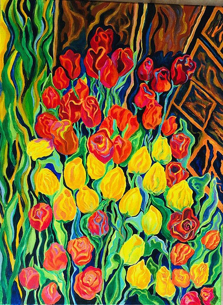Tulips by Jan Stiles