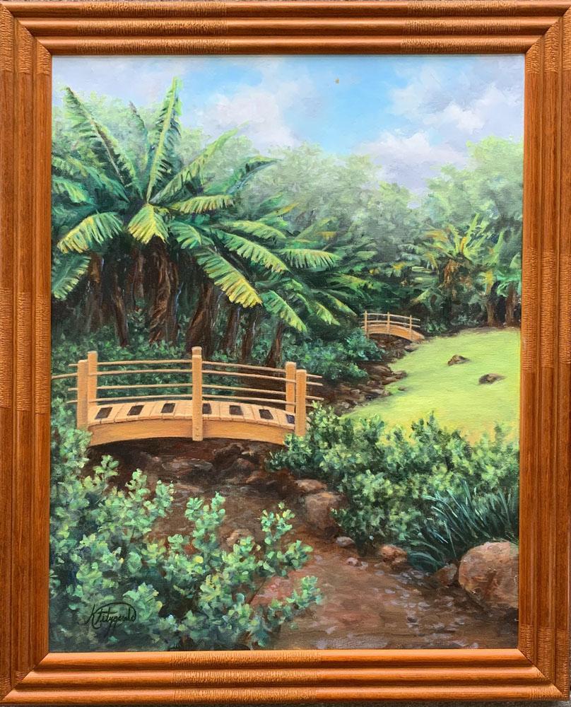 Omidyar Garden, Punahou School by Kelley Fitzgerald