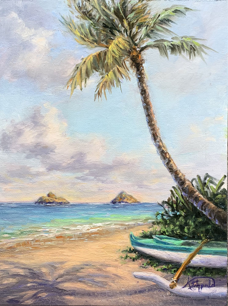 Lanikai Beach Perfect Day by Kelley Fitzgerald