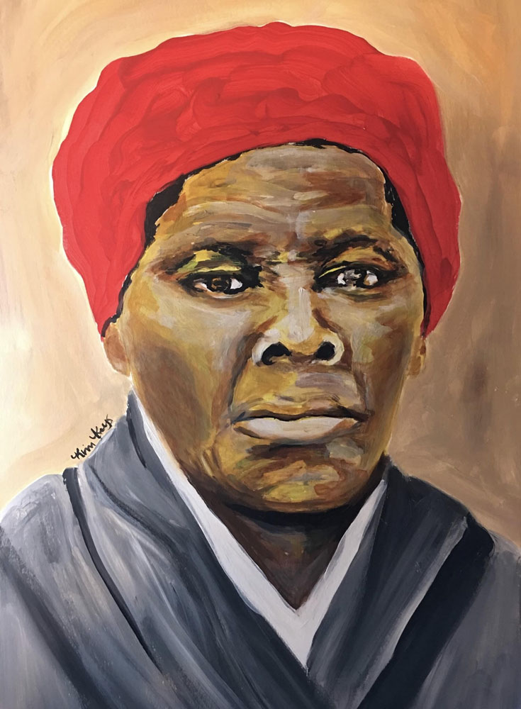 Harriet Tubman by Kimberly Keys