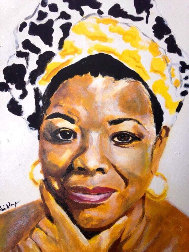 Maya Angelou by Kimberly Keys