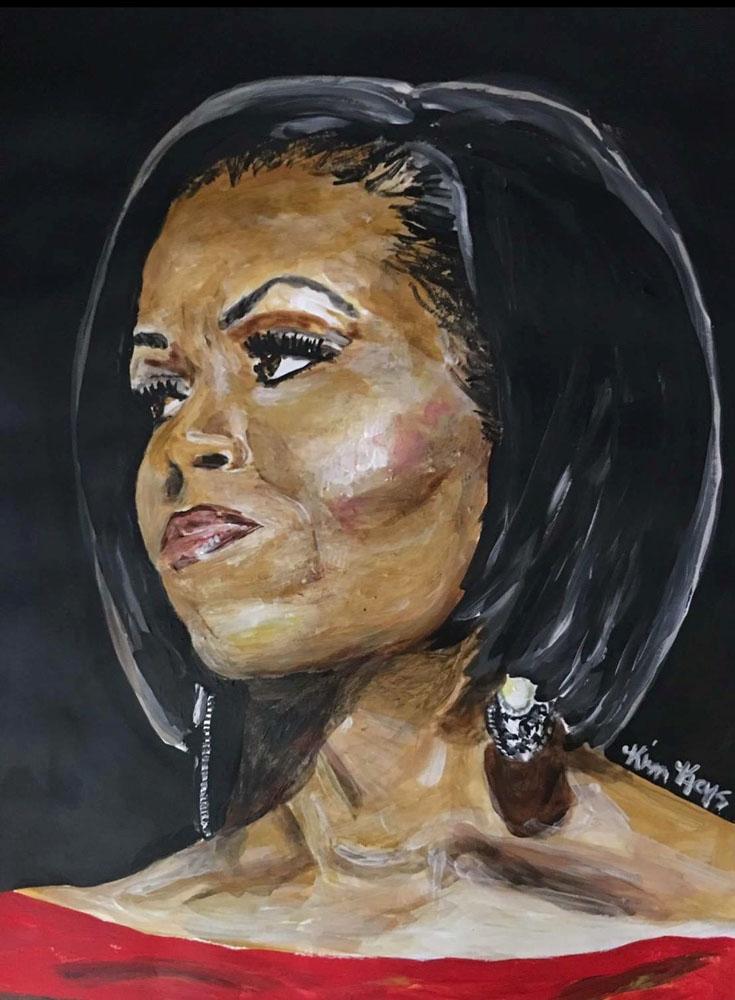 Premier First Lady Obama by Kimberly Keys