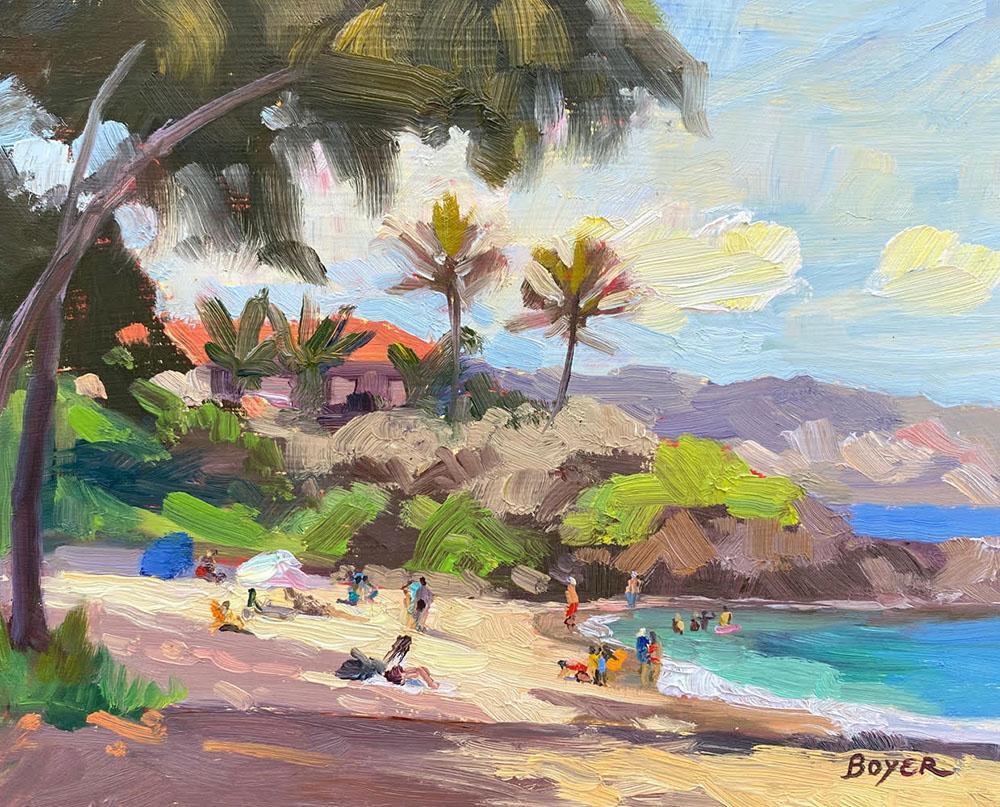 Impressions of a North Shore Beach by Lynne Boyer