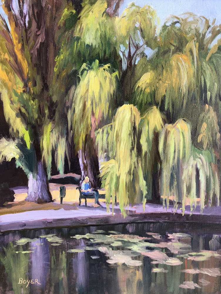 Under the Weeping Willow by Lynne Boyer