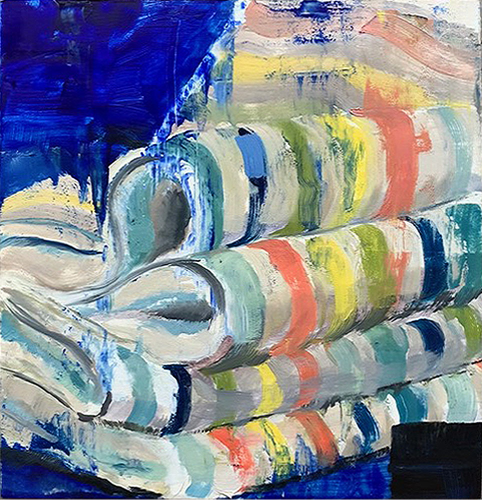 Abstract on Stripes by Madalyn Purcell