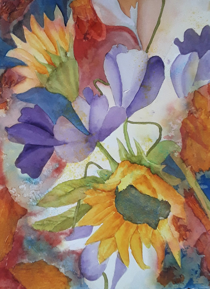 Sunflower Dream by Nancy Vaughn