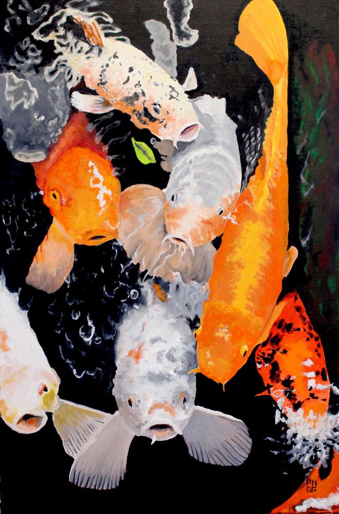 Koi Series I by Randall Pong