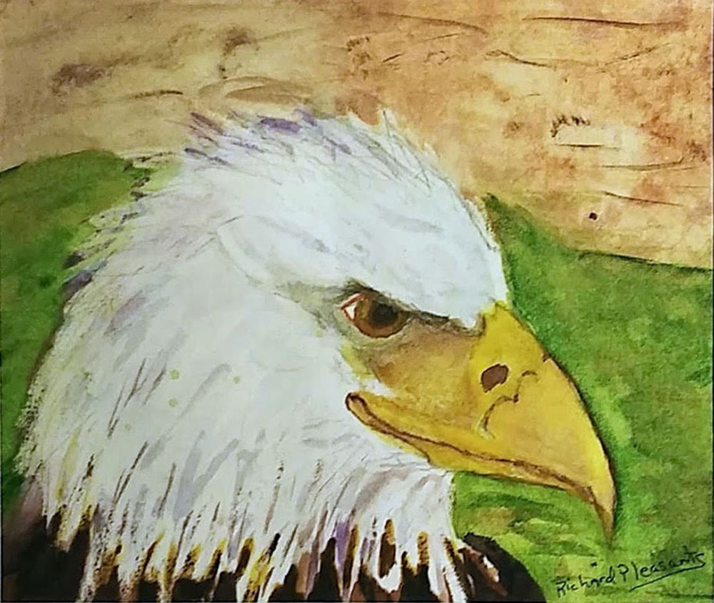 Eagle by Richard Pleasants