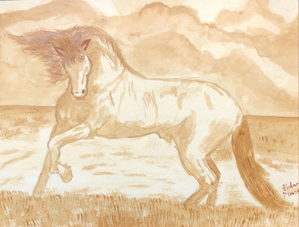 Horse by Richard Pleasants