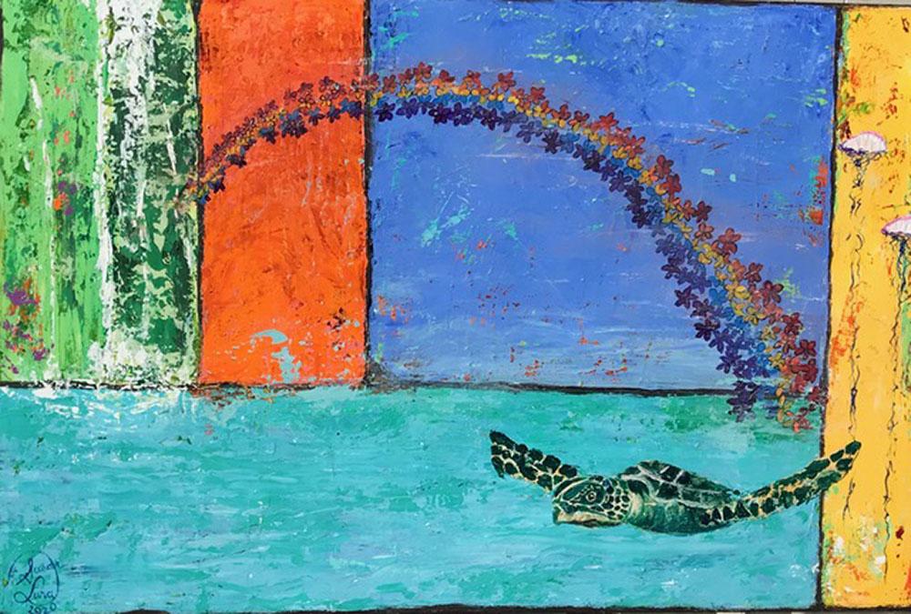 Anue'nue Honu by Susan Lura